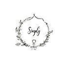 Color it yourself - simply love - floral wreath by maarta