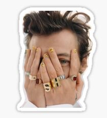 Harry Styles Glossy Sticker