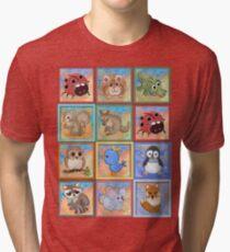 Baby animals 2 Tri-blend T-Shirt