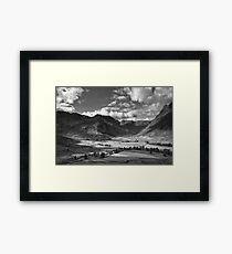 Oxendale & Mickleden 01 - The Lake District, England Framed Print