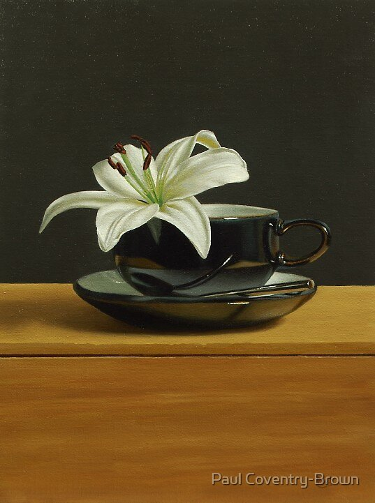 A Cup of Lily Anyone? by Paul Coventry-Brown