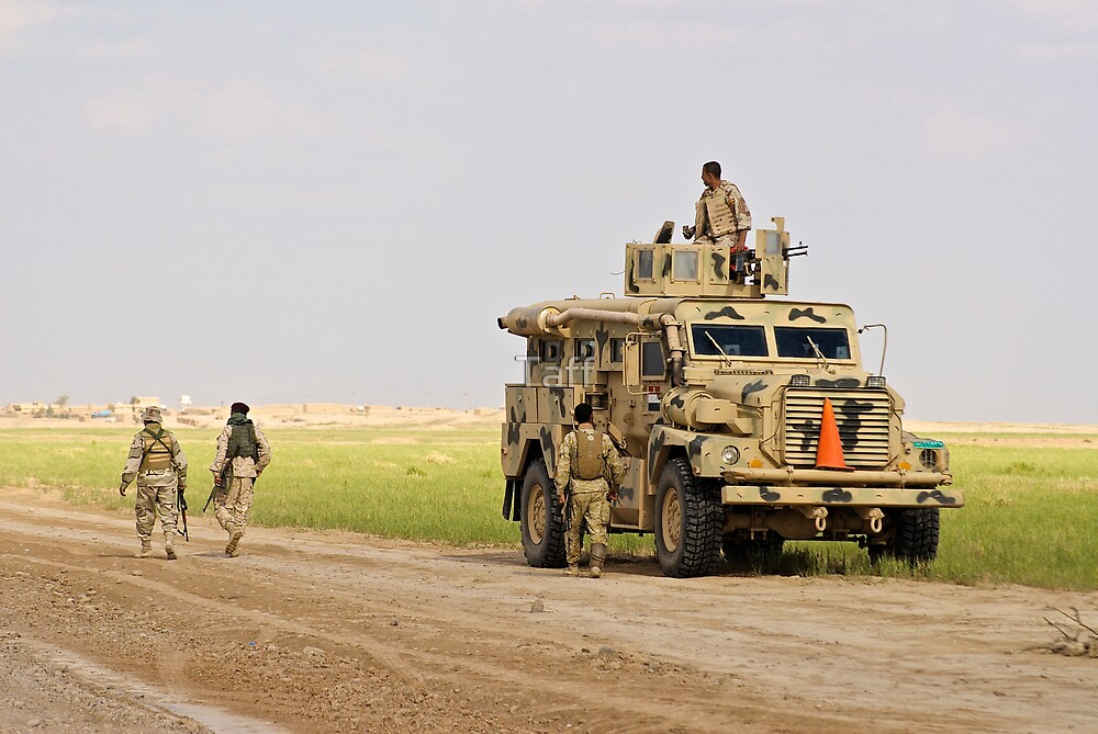 Iraqi security forces by Taff