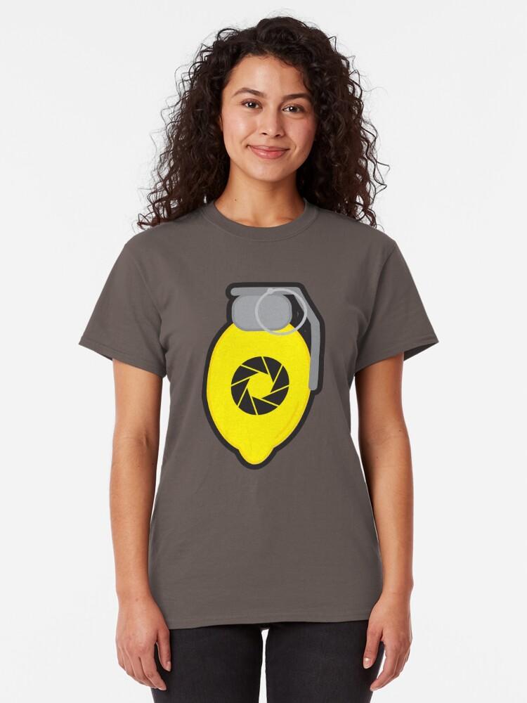 Alternate view of Lemon Grenade Classic T-Shirt