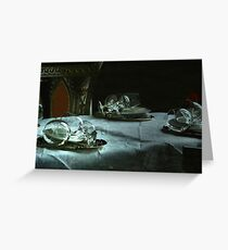 Table setting Greeting Card