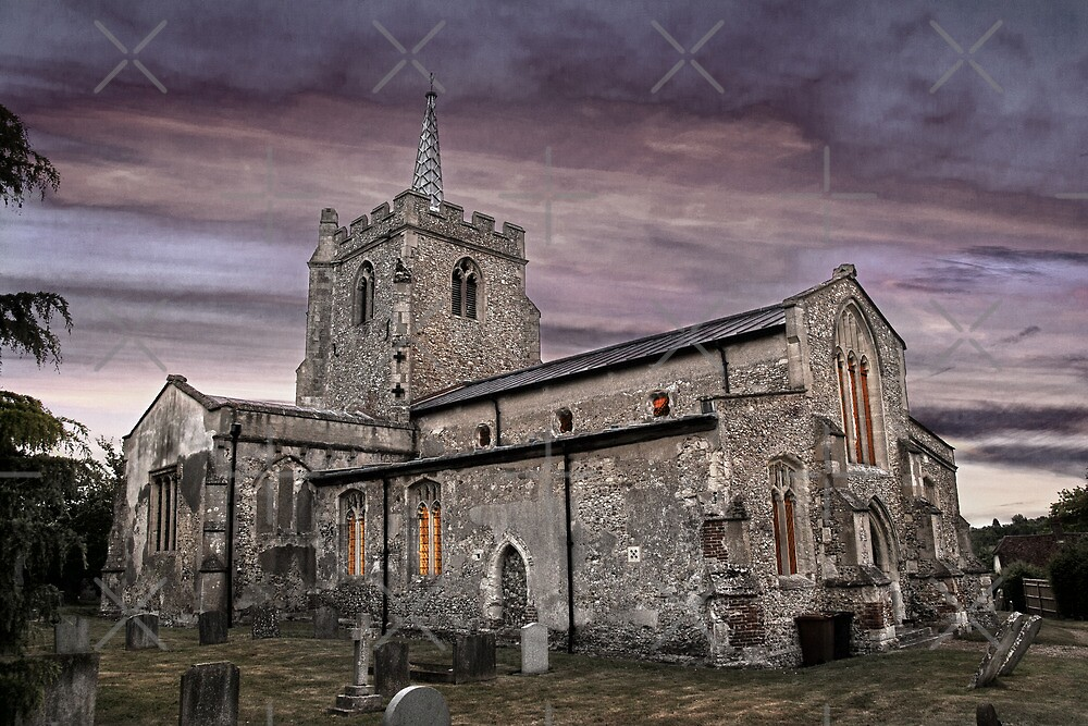 St.Georges Church,Anstey 2 by Geoff Carpenter