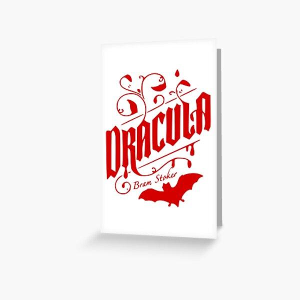 Dracula - Bram Stoker Greeting Card