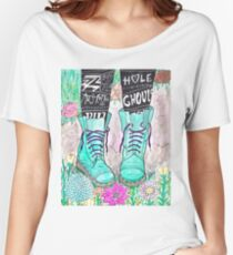 Punk Boots Women's Relaxed Fit T-Shirt