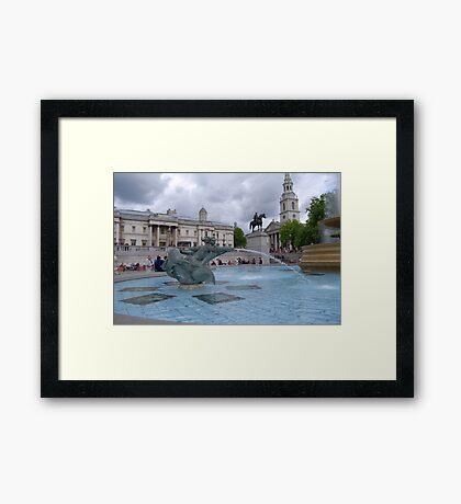 Trafalgar Square London Framed Print