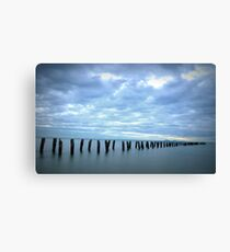 Old jetty, Clifton Springs  Canvas Print