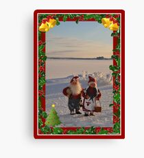 Christmas - poster1 Canvas Print
