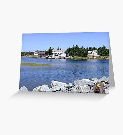 Bush Island (2) Greeting Card