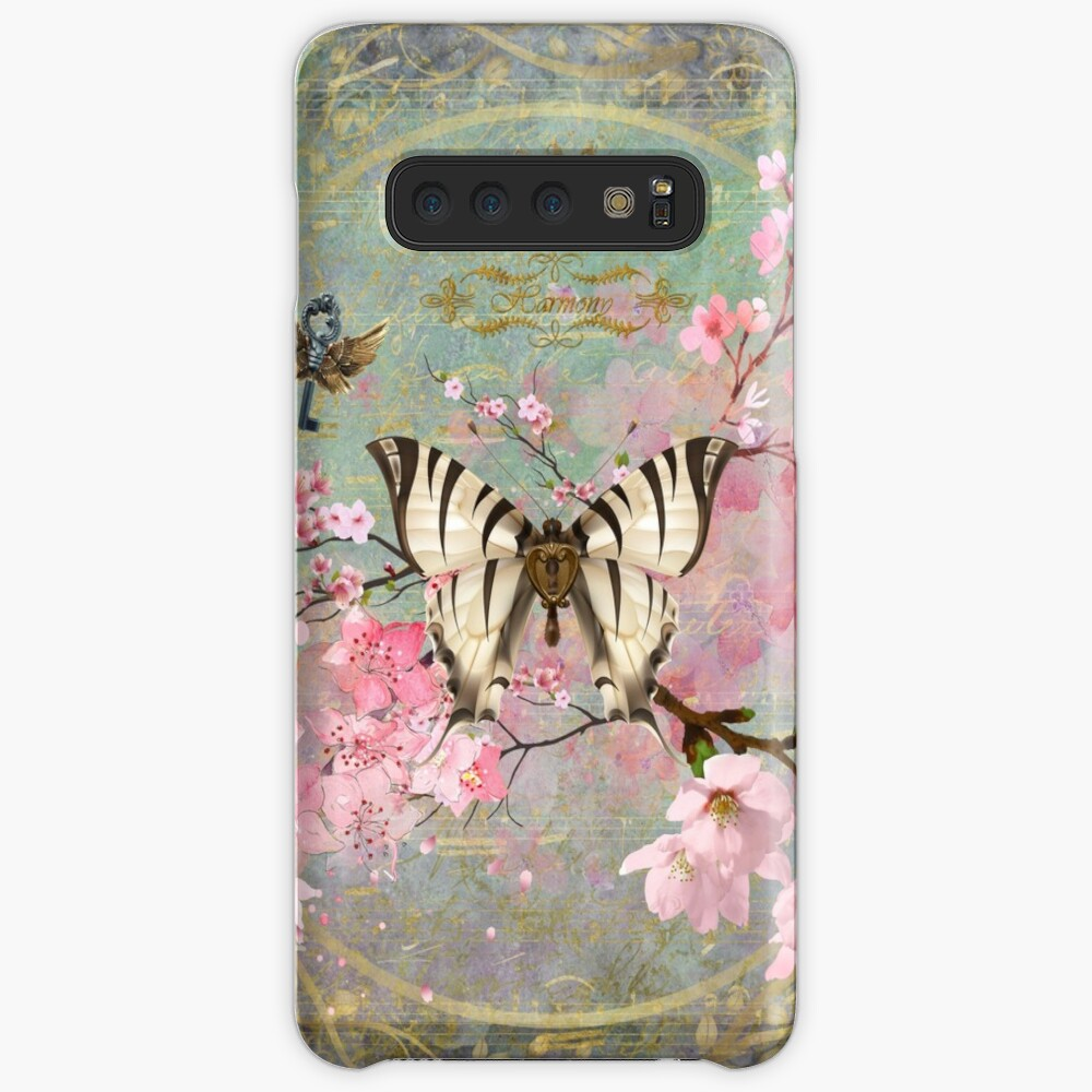 Harmony Cherry Blossom Butterfly Case & Skin for Samsung Galaxy