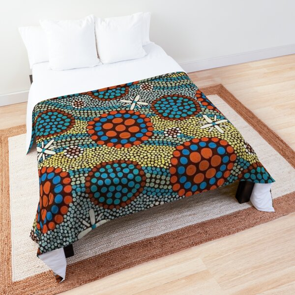 rivers and streams Comforter