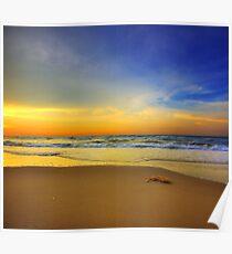 Sunset Vertorama at Seri Kenangan Beach Poster