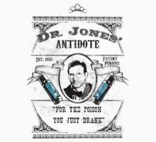 Dr. Jones' Antidote- Indiana Jones One Piece - Short Sleeve