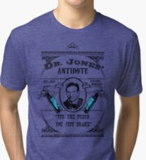Dr. Jones' Antidote- Indiana Jones Tri-blend T-Shirt