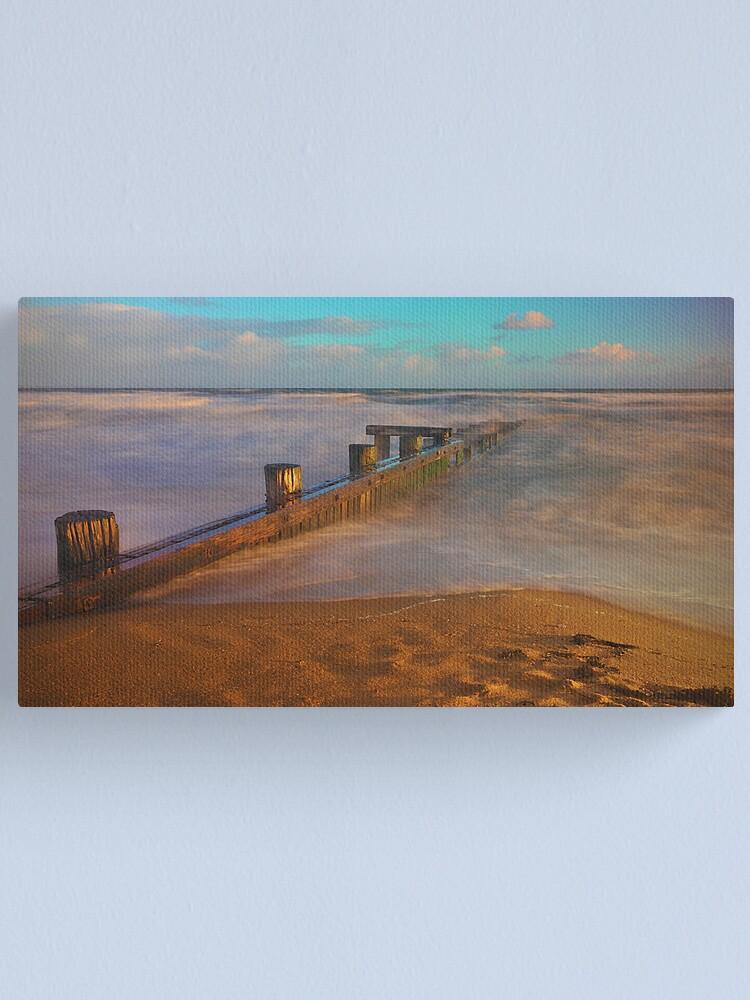 Alternate view of Evening Light - Mentone Canvas Print