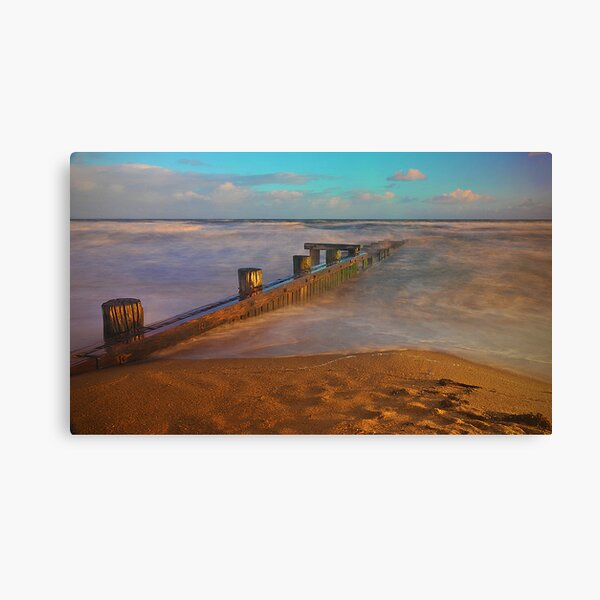 Evening Light - Mentone Canvas Print