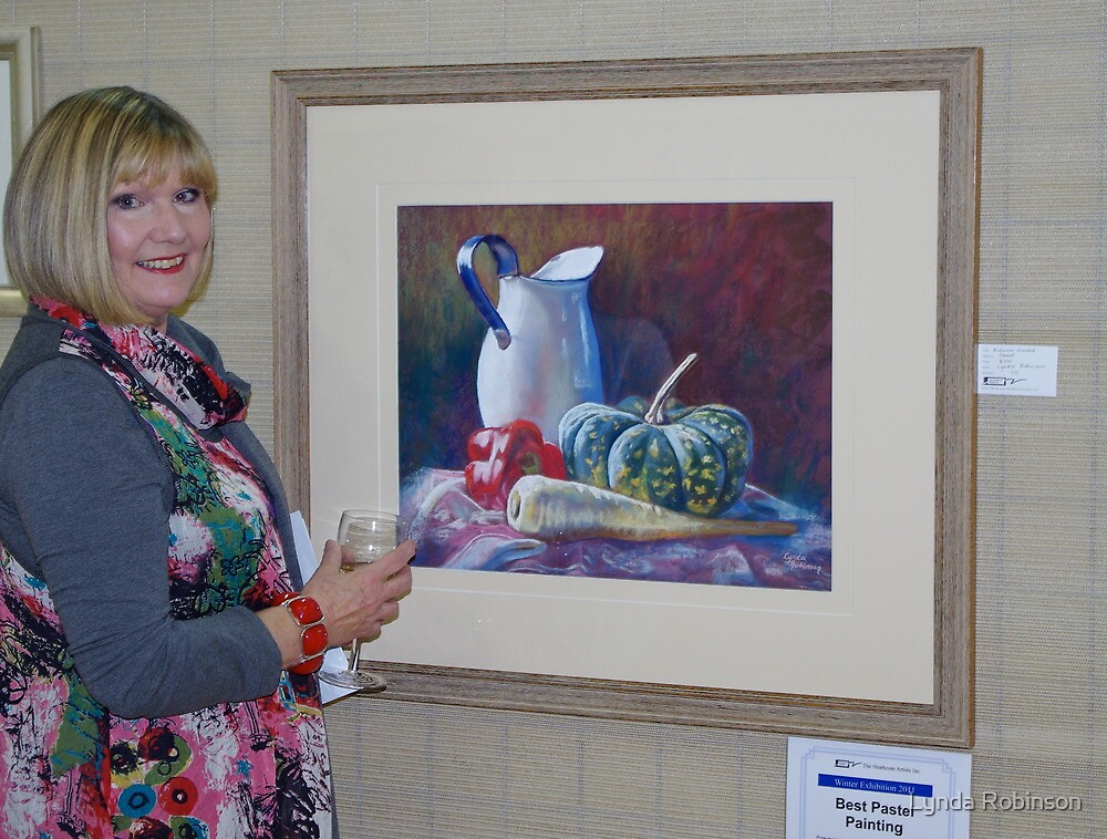 'Best Pastel Painting' Award by Lynda Robinson