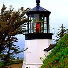 """""""Cape Meares Lighthouse"""" by Lynn Bawden"""
