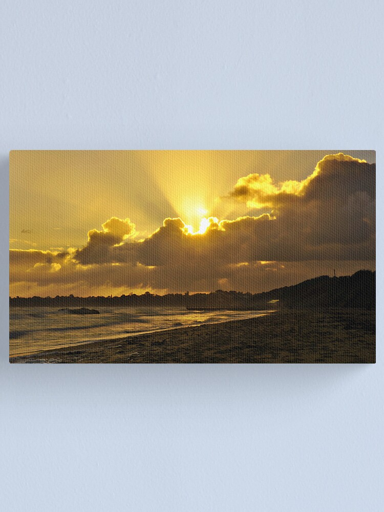 Alternate view of Winter Sunset Canvas Print