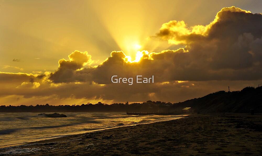 Winter Sunset by Greg Earl