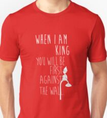 """When I am King, you will be first against the wall."" Radiohead - Light Unisex T-Shirt"