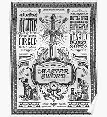 Master Sword Advertisement Poster