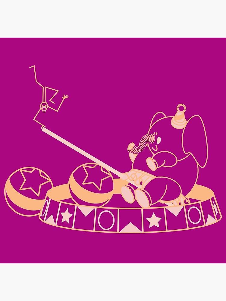 Elephant & Monkey Friends by a-roderick