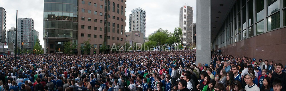 Sea of People by Aziz Dhamani