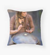 Edinburgh Festival Throw Pillow