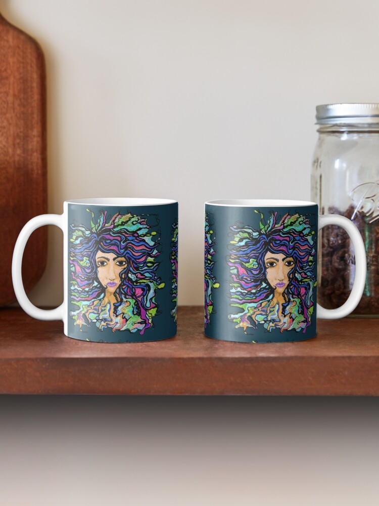 Alternate view of one with the universe NUELLE by eileenaart Mug