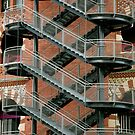 Staircase Barcelona by Louise Fahy