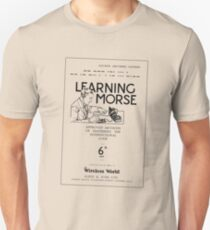 Learning Morse - Light T-Shirt