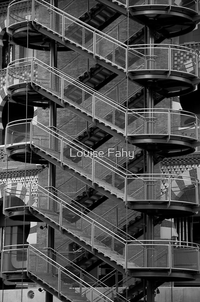 Staircase Barcelona II by Louise Fahy