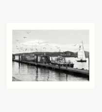 Littlehampton harbour Art Print
