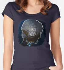 Fenris - The Chains Are Broken Women's Fitted Scoop T-Shirt