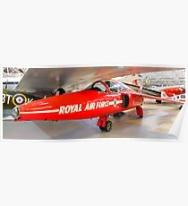 Red 3 Cosford  Poster