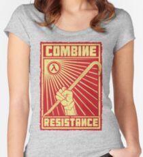 Combine Resistance Women's Fitted Scoop T-Shirt