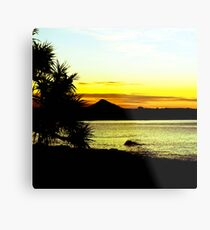 Summer Silhouettes Metal Print