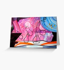 Still Life with Flowers. Greeting Card