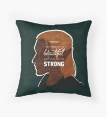 Zevran - Things That Are Beautiful Throw Pillow