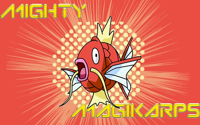 mighty magikarp by Plusle