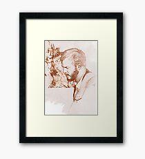 Bon Iver / Justin Vernon Framed Print
