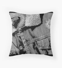 """Matts Smoking Jacket"" Throw Pillow"
