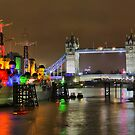 HMS Belfast and Tower Bridge - HDR by Colin  Williams Photography