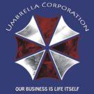 Resident Evil Umbrella corporation design by its-mr-towel
