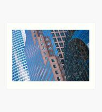Lámina artística New York Buildings