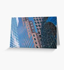 Tarjeta de felicitación New York Buildings