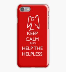 Help the helpless iPhone Case/Skin